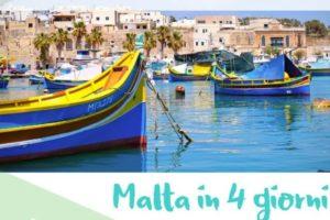 Malta 4 giorni