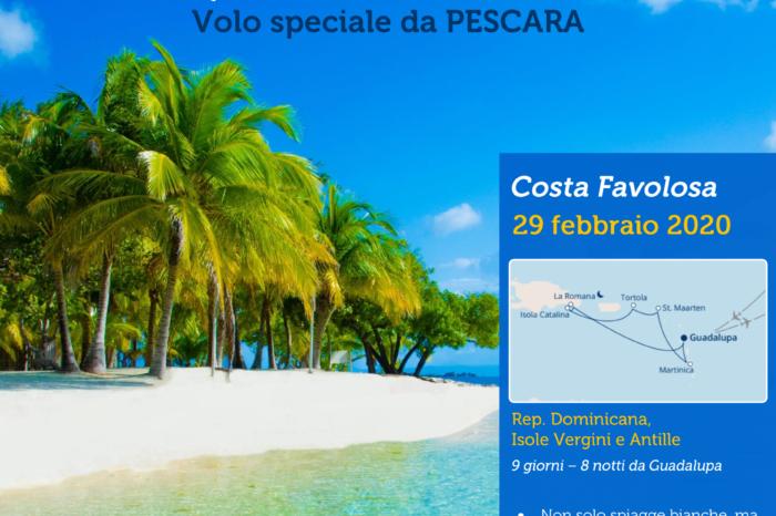 Costa Favolosa 29 feb-8 mar 2020 da Pescara