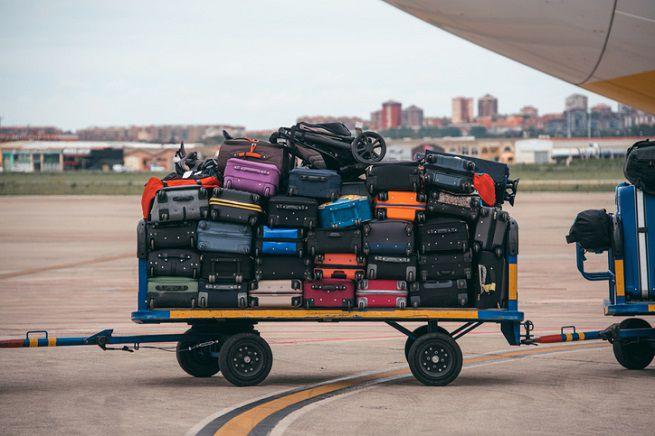 Aereo: bagagli stiva