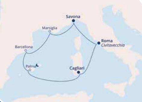 COSTA SMERALDA – Mediterraneo Occidentale